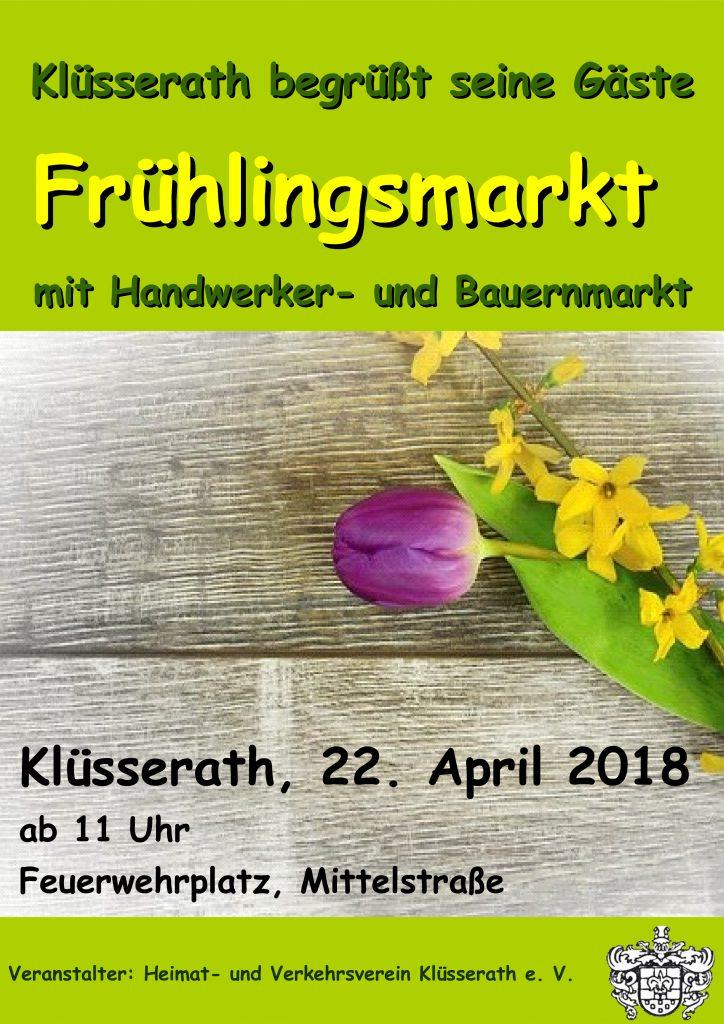 Frühjahrsmarkt @ Mittelstraße, Festplatz am Feuerwehrhaus