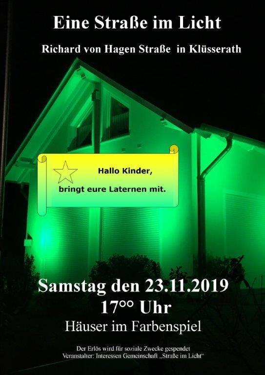 Straße im Licht @ Klüsserath | Rheinland-Pfalz | Deutschland
